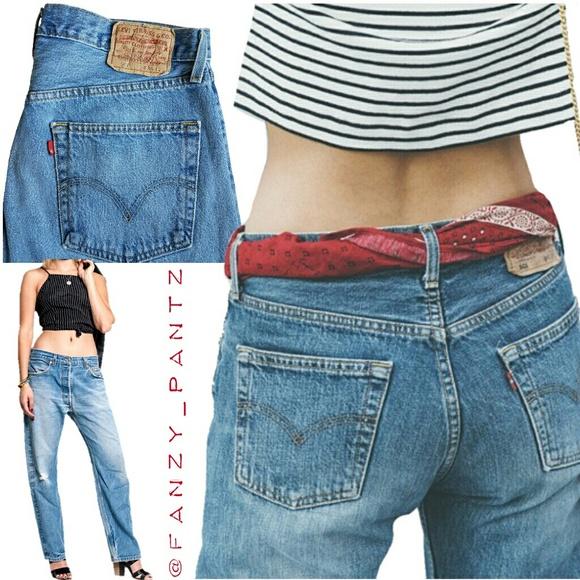 460af6fec6e Levi's Jeans | Vintage Levis 501 Ultimate Boyfriend 1990s | Poshmark